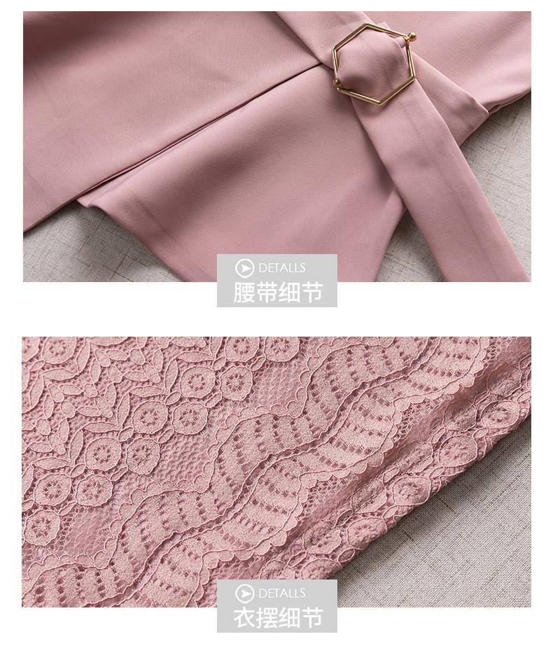 Women Pant Suits Bandage vest hollow out lace Sets Work Wear 3 Pieces Set Lapel vestt and Pant Uniform Style Outfits 29