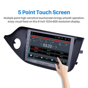 """Image 3 - Seicane Android 8.1 2din 9"""" Car Multimedia Player WIFI Bluetooth GPS Navigation For 2012 2013 2014 Kia Ceed LHD Wifi Head Unit"""