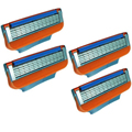 4pcs/lot High Quality 5-blade Razor Blades, The Best for Men Shaving Face Care