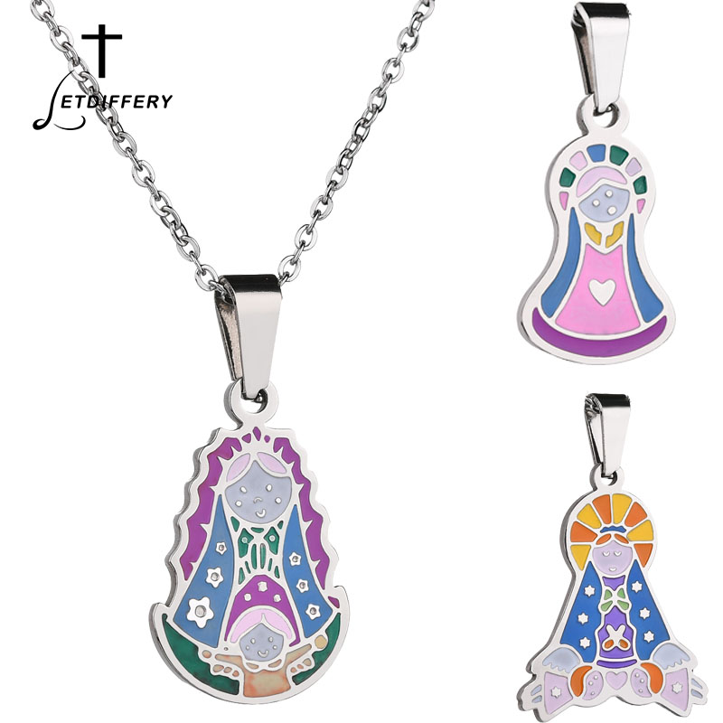 Buy Miraculous Medal Necklace And Get Free Shipping On Aliexpress