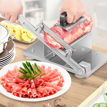 Multi-function beef and mutton slice Meat slicing machine frozen meat grater Manual Thickness adjustable vegetables slicer