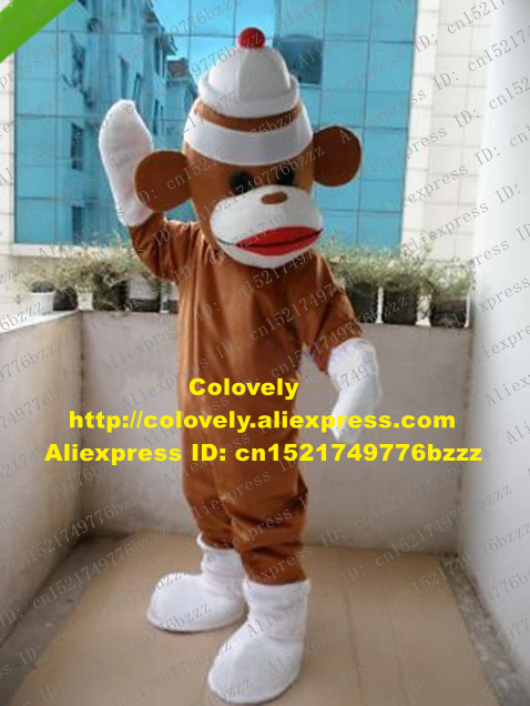 Mascot Novelty & Special Use Pleasant Pink Monkey Mascot Costume Cartoon Character Mascotte White Shoes Flower Dresses Gracile Tail Long Eyelashes Zz1799 Fs