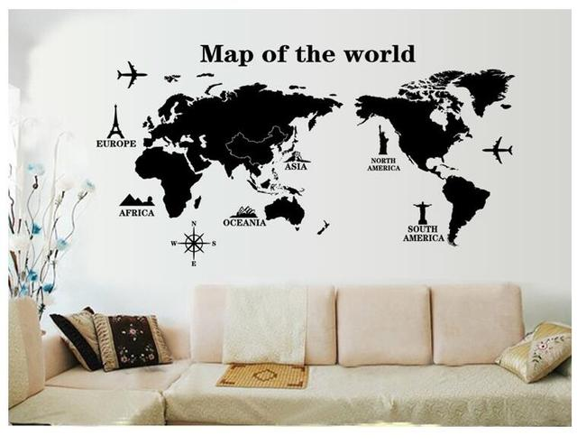 2017 hotsale 6090cm travel study world map background student sofa 2017 hotsale 6090cm travel study world map background student sofa family wall paper stikers gumiabroncs Choice Image