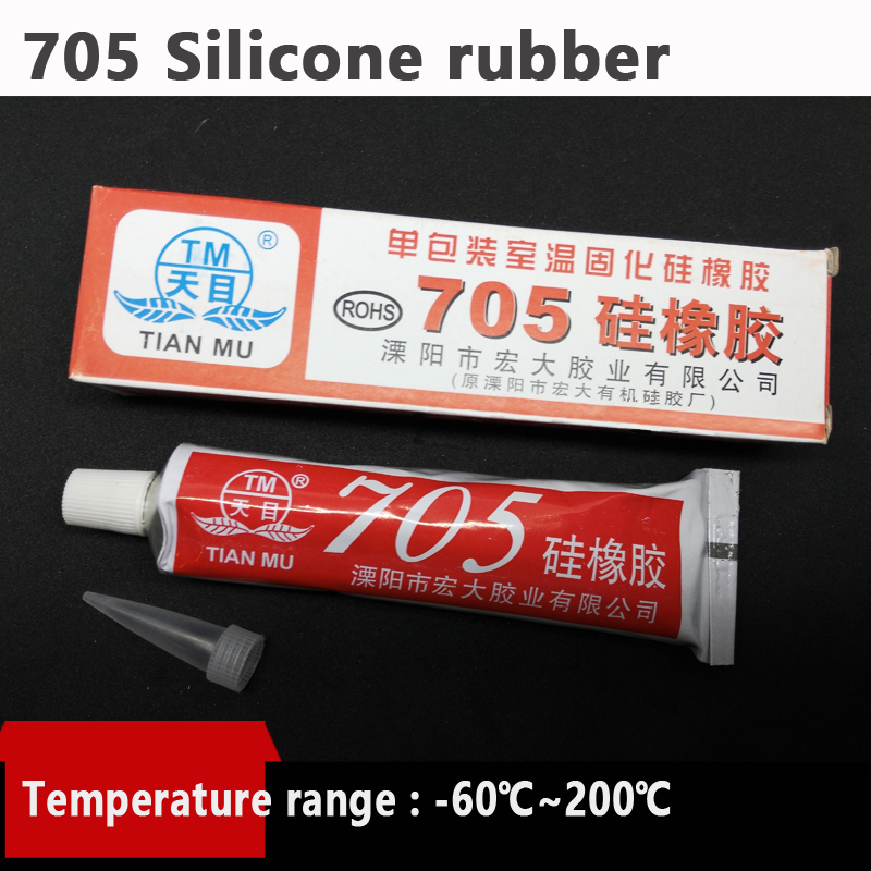 705 Silicone rubber,Circuit board glue,waterproof,Resistance to high temperature, fix Electronic components