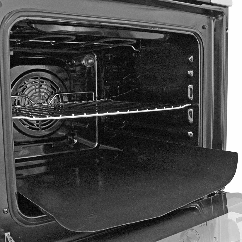 2 x Grande Antiaderente Fodera del Forno Riutilizzabile Teflon Lavabile In Lavastoviglie Cottura Fuoriuscita Mat