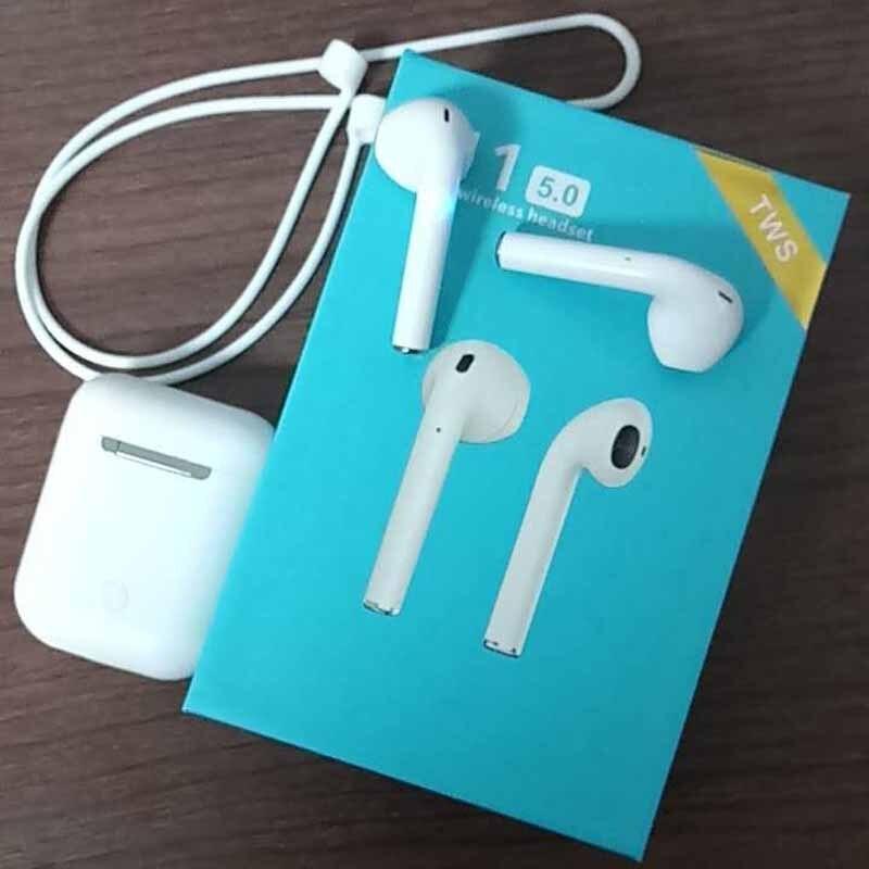 Originale i11 ifans 1:1 Air TWS baccelli Senza Fili di Bluetooth 5.0 super bass stereo Auricolari per iPhone cuscinetti auricolari meizu pop xiaomi airdots
