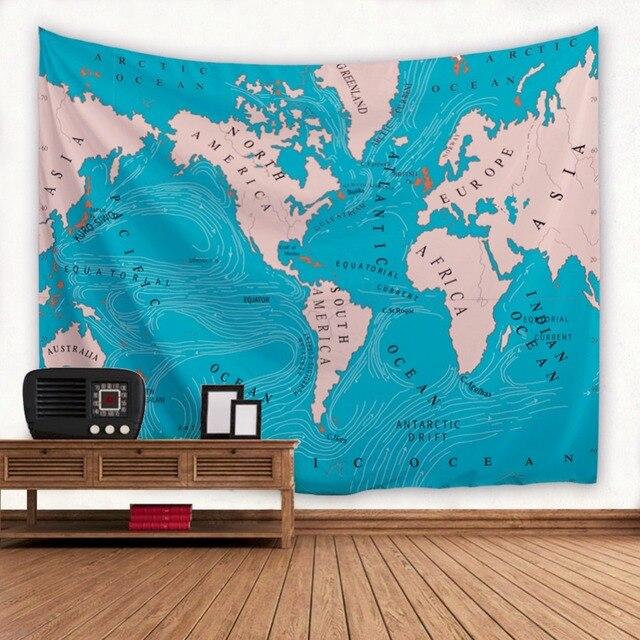 Ocean world map wall tapiz indio mandala tapiz tapiz tapices colcha ocean world map wall tapiz indio mandala tapiz tapiz tapices colcha sof estera de yoga manta gumiabroncs Image collections