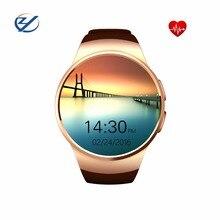 ZaoYi KW18 Smart Uhr Mit Bluetooth Reloj Inteligente Pulsmesser Smartwatch Für Iphone xiaomi Android PK U8 GT08 DZ09