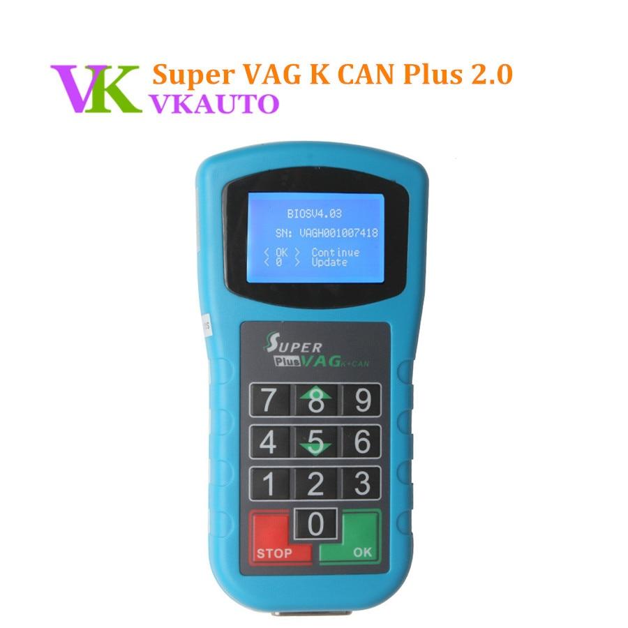 New VW Key Programmer Super VAG K CAN Plus 2.0 Odometer Programmer Diagnostic Scanner