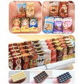 5PCS Cute Mini Simulation CHOCOLATE Dollhouse Miniature Doll Food Play Food Toy