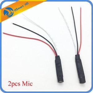 Image 1 - Mini cctv alta sensibilidade microfone câmera de segurança microfone de áudio microfone dc cabo de alimentação ampla gama microfone para câmeras cctv dvr sistemas