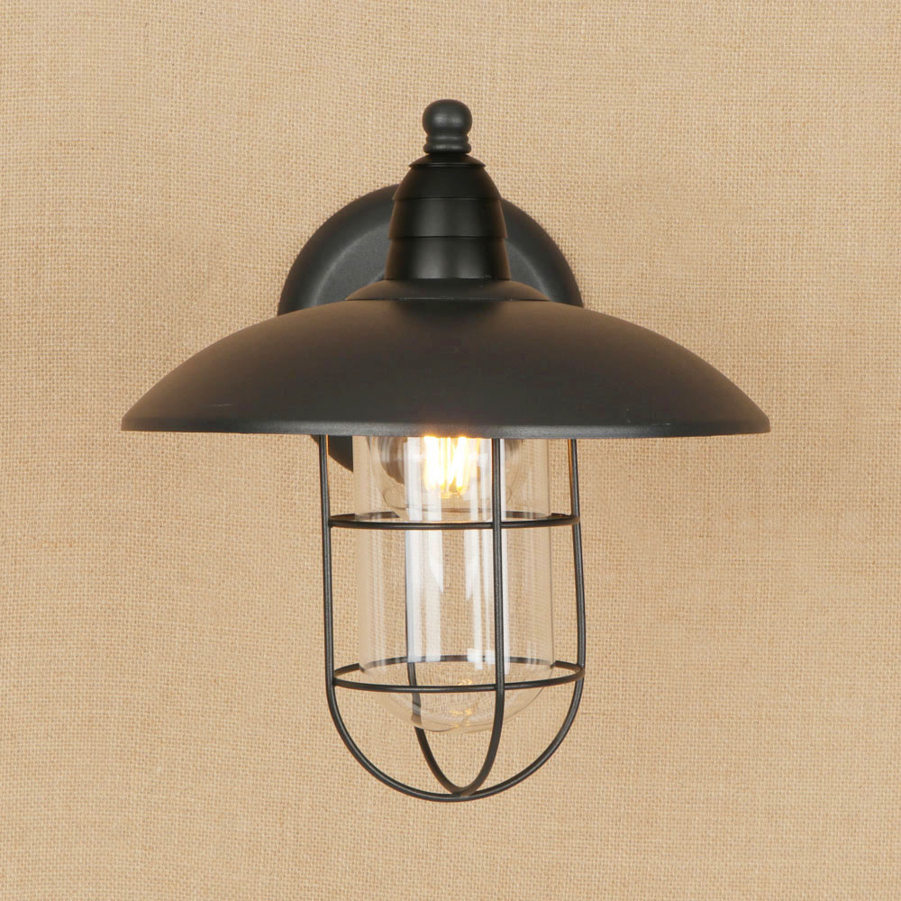 Doxa american vintage industrial lighting fixtures iron wall lamp black retro wall lamps for reading bar cafe lampara pared