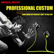 MOOLSUN MS-7 Sports Running Wireless Bluetooth Headset In-Ear Subwoofer Bass Stereo Earphone For Driving Ios Android Smartphone
