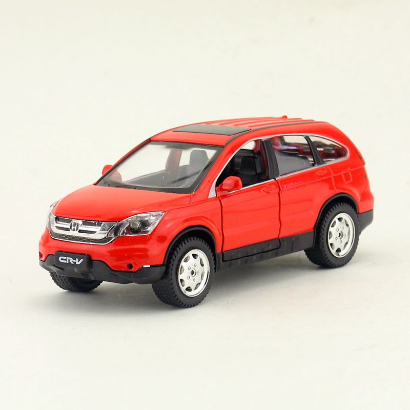 Diecasts & Toy Vehicles Popular Brand Free Shipping/diecast Toy Model/1:30 Scale/honda Crv Cr-v Suv/pull Back/sound & Light Car/educational Collection/gift/children