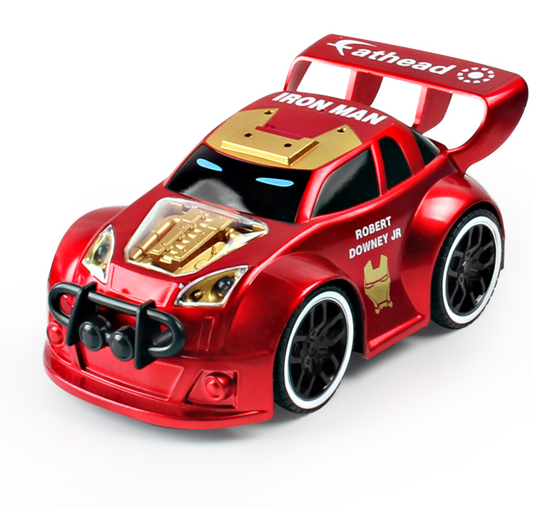 The Avengers RC Car Toys for Children Boys iron Man Captain America Superman Hulk Spiderman Car Christmas Gifs Remote Control boys children s clothing muscle super hero captain america costume spiderman batman hulk avengers new cosplay children pajamas