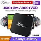 IPTV Subscription 1 Year SUBTV Code X96 MINI Android 7.1 TV Box S905W IPTV France Portugal Turkey Canada French Arabic IPTV Box