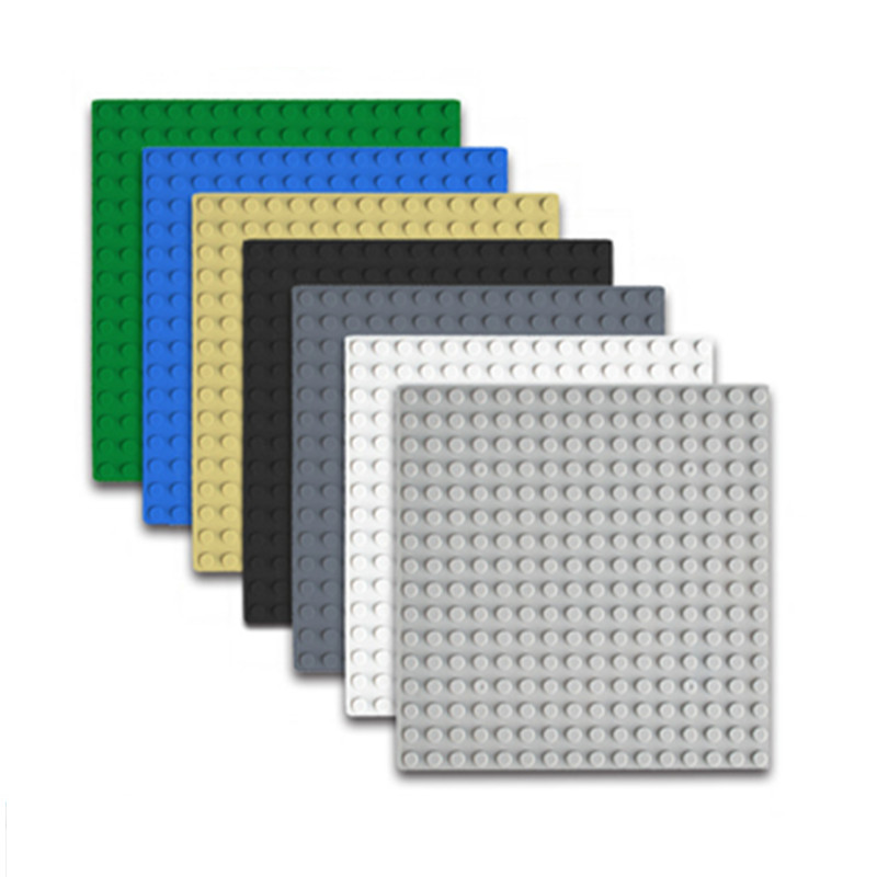 Classic Base Plates Plastic Baseplates Compatible LegoINGLYE plate Major Brands Building Blocks Construction Toys 16*16 Dots trends brands base платье trends brands base ss1501 dr003 grey