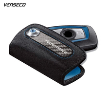 VENSECO fashion for bmw wallet suede leather key case fit BMW X3 X4 1 3 4 5 6 7 series and GT NEW ARRIVAL