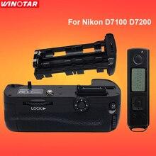 Meike – poignée de batterie verticale pour appareil photo Nikon D7100 D7200, support pour télécommande
