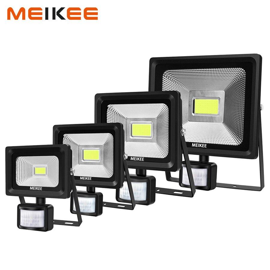 10 W/20 W/30 W/50 W LED Flutlicht Motion Sensor Wasserdichte 6000 K LED PIR Flutlicht Reflektor Wand Lampe Outdoor Halogen Licht