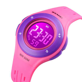 Skmei Children Watch Kids Watch Silicone Watch Electronic Digital Clock Wristwatches For Child And Girls Quartz - DISCOUNT ITEM  40% OFF All Category
