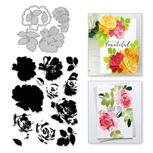 Eastshape Flower Clear Stamps and Metal Cutting Dies Floral Scrapbooking New 2019 Making Card Craft Set Embossing Stencils