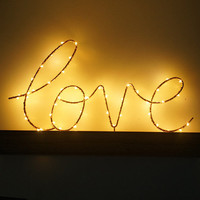 Christmas Iron Art Wood Bottom Letter Night Lamp Light Home Bedroom Decor Birthday Gifts christmas decorations kerst new year @L