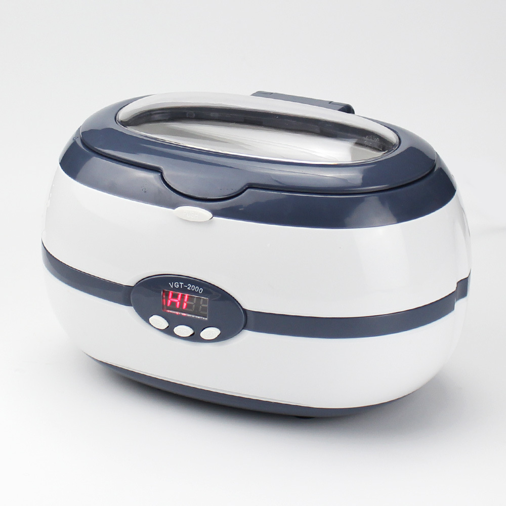 Image 3 - 600ML 220V Ultrasonic Cleaner 35W for Necklace Earrings Bracelets Dentures Household Ultrasonic Cleaning Washer machine Baths-in Ultrasonic Cleaners from Home Appliances