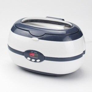Image 3 - 600ML 220V nettoyeur à ultrasons 35W pour collier boucles doreilles Bracelets prothèses dentaires ménage ultrasons nettoyage laveuse machine bains