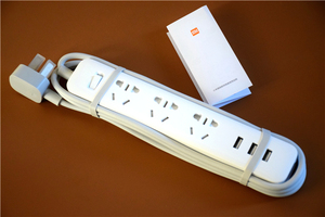 Image 5 - Original Xiaomi Powerstrip Power Strip Outlet XMCXB01QM Quick Charging 3 USB Socket Patch Board Out 250V 10A 2500W 1.8M Lenght