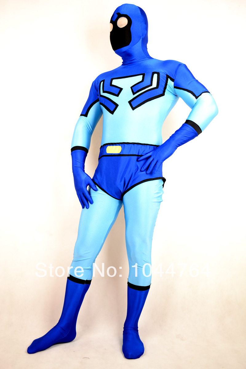 Popular Blue Beetle Costume-Buy Cheap Blue Beetle Costume lots ...