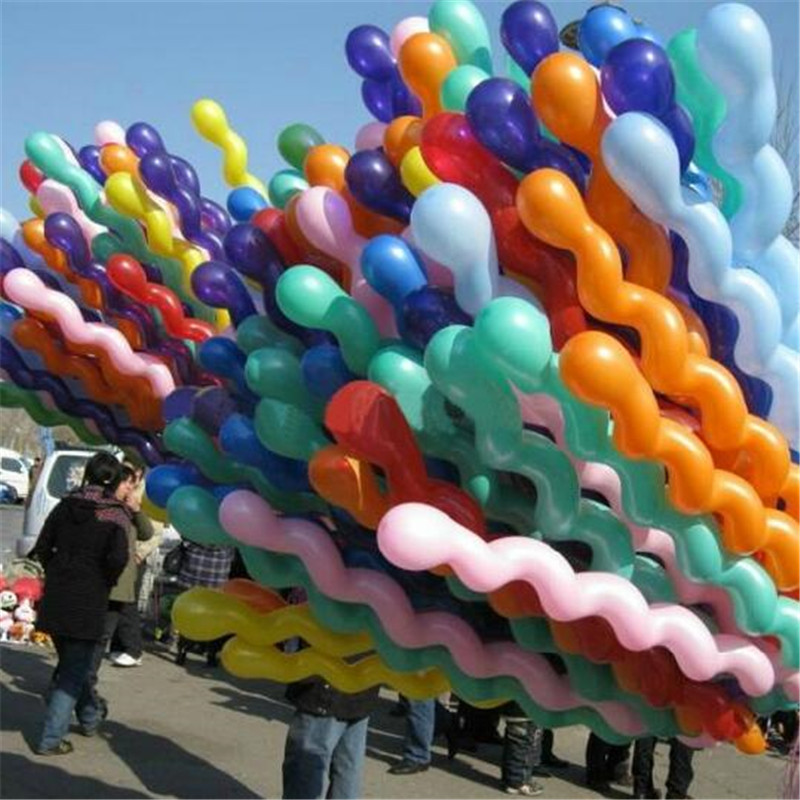 5PCS Wedding Decoration Balloons 36 Inch 25g Screw Thread