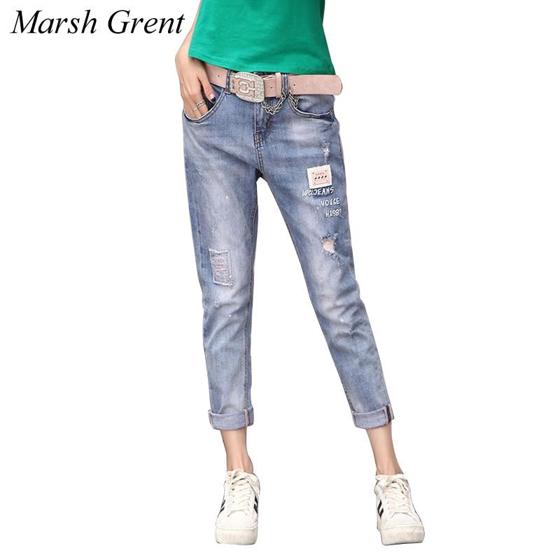 ripped jeans for women jeans boyfriend plus size denim