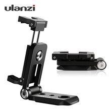 Ulanzi ST-05, складной штатив, адаптер, держатель для телефона, клипер, вертикальный 360 штатив, подставка, быстросъемная пластина для штатива, микрофона