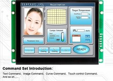 intelligent screen 8 inch TFT LCD 500 nits high resolution for automatic equipment цены