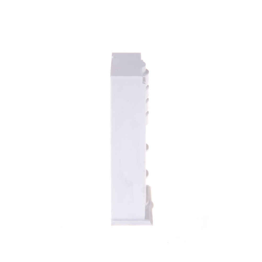 1:25 Dollhouse Furniture Wardrobe Movable Drawer Plastic White Closet Bedroom Clothes Accessories For  Doll