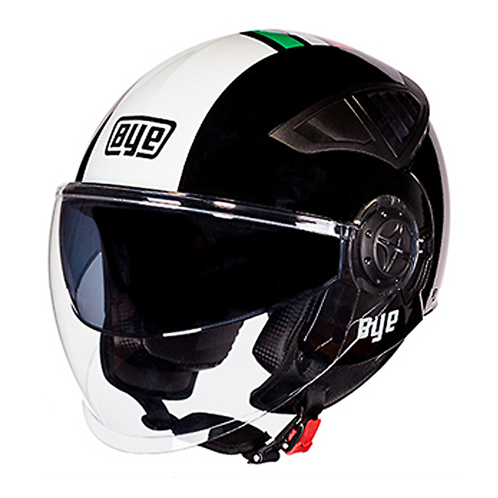 BYE Motorcycle Helmet Retro Vintage Motorbike 3 4 Open Face Half Helmet DOT Cruiser Touring Chopper