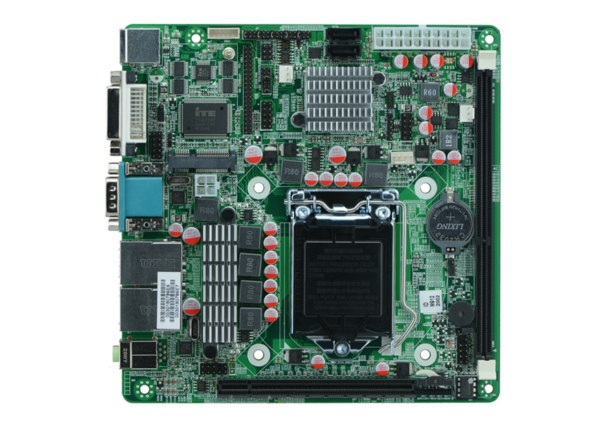 LGA1155 H61 industrial motherboards 6*COM Dual network card self-service terminals motherboards portwell robo 8712evg2a industrial motherboard dual network length of two usb p4 card