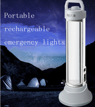 Rechargeable led camping solar lamp SMD 5730 3900mah Battery capacity 82 LED lamp beads Emergency Lights 8.2W LED Tube