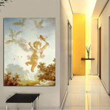 Unframed Modern HD Printed Oil Painting On Canvas Angel Wall Art Decorative Pictures Home Decoration