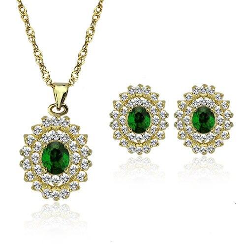 wholesale free shipping fashion gift jewelry bridal 18k