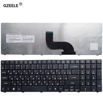 GZEELE-teclado ruso para ordenador portátil, para Acer Aspire 5742G 5740 5742 5810T...
