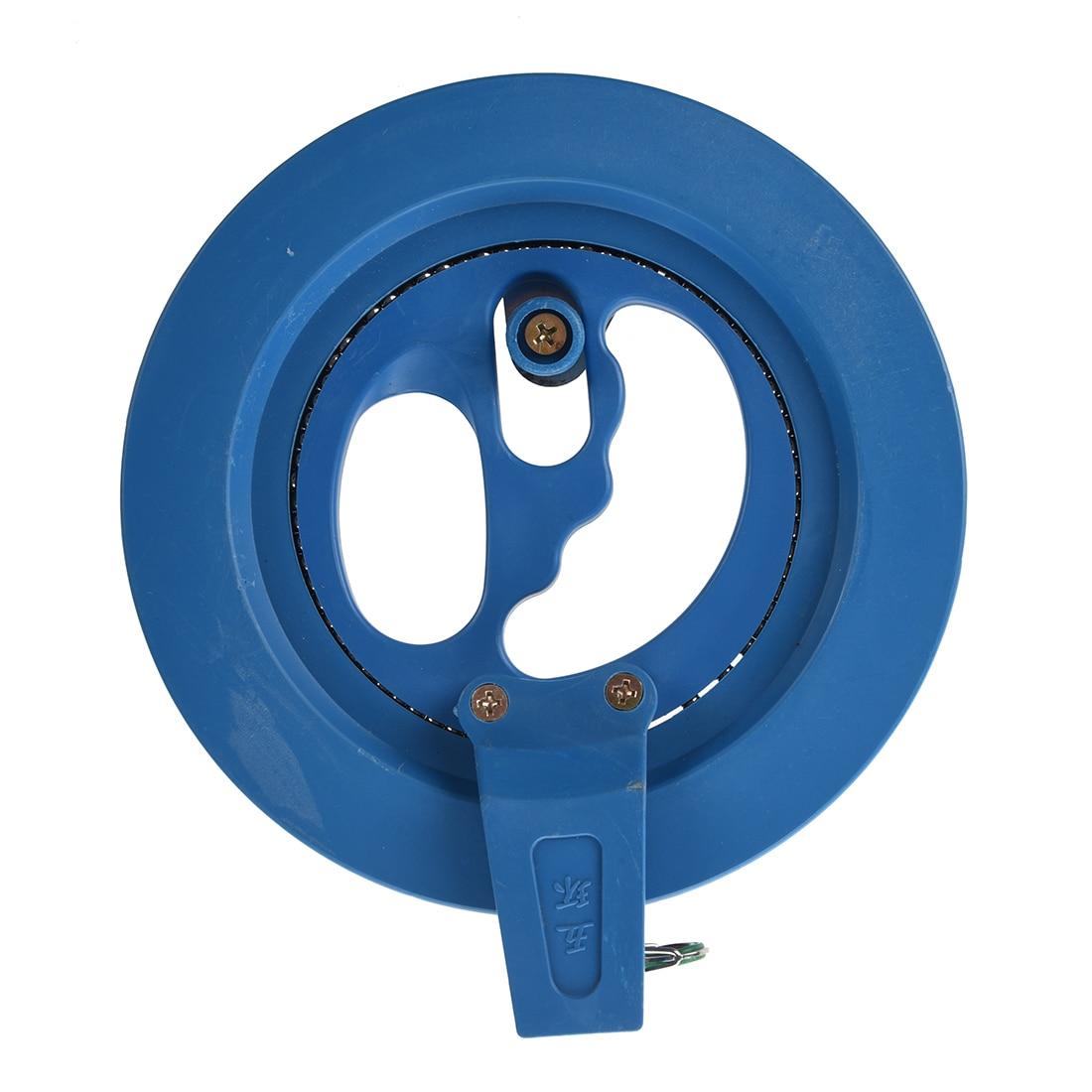 New-Blue-Outdoor-Kite-Tool-Ballbearing-Blue-Plastic-Reel-Line-Winder-1