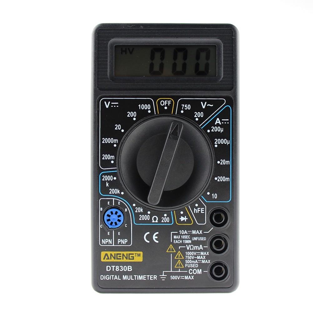 1 PC AAA Qualità Nuovo multimetro digitale LCD LCD AC / DC - Strumenti di misura - Fotografia 5