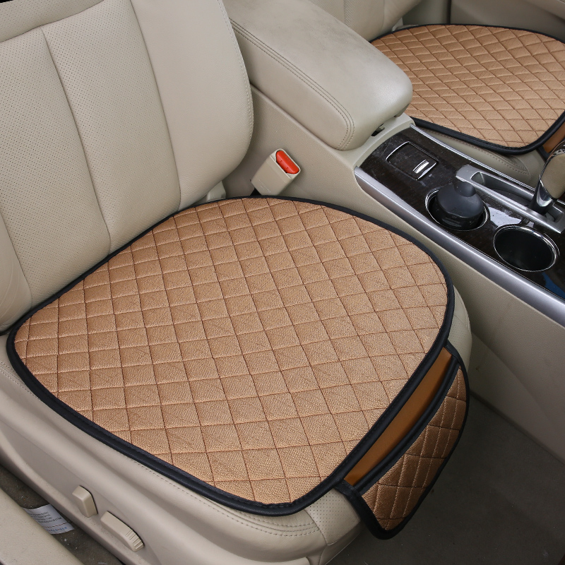 Car seat cushion three-piece seat covers protector pad accessories for kia ceed lada largus kia cerato daewoo nexia opel astra