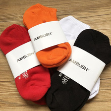 Ambush SOCKS 19SS  DHL Socks Harajuku Calcetines Hip Hop Skarpetki Women Men Gift Kanye West Winter