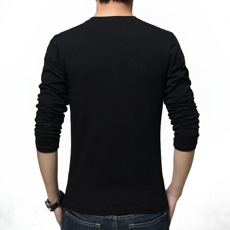 Camisetas de manga larga Nueva moda 2019 Estampado de primavera Ropa - Ropa de hombre - foto 4