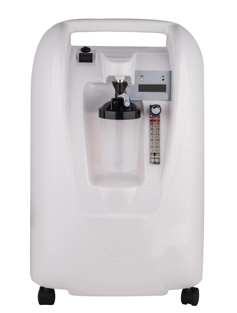 Portable Oxygen Concentrator <font><b>O2</b></font> <font><b>Generator</b></font> CE Approved 5L 90% Medical Health Care Use Oxygen Bar 24 Hours Continuously Running image