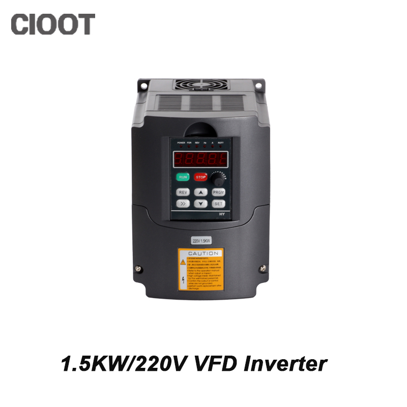 2017 Top Fashion New Arrival Single Grid Tie Inverter 1.5kw Inverter Hy Vfd Spindle 220v Frequency Drive Machine For 2017 direct selling limited inverter grid tie 3kw 220v ac variable frequency drive vfd inverter for 3 0kw spindle 3000w