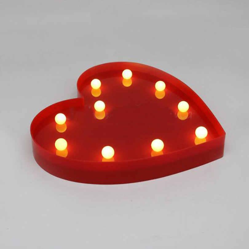 Linda letra flamencos Led luz de noche para bebé luz al lado juguete piña Cactus pared lámpara marquesina signo LED hogar Navidad Decoración